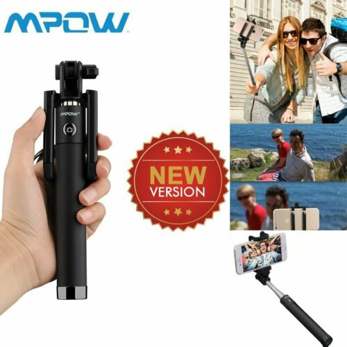 MPOW Extendable Selfie Stick Bluetooth Remote Self-portrait