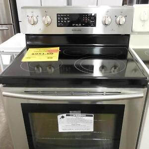 STAINLESS STEEL STOVES 30'' SMOOTHTOP 1 YEAR WARRANTY ELECTRIC; GAS SALE, WITH FREE DELIVERY TIL APRIL 23