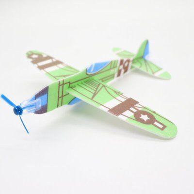 Hand Throw Airplane Aviation Model Kids Toy Glider Outdoor Children DIY Gifts