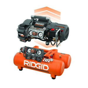 Ridgid Tri-Stack 5 Gal. Portable Electric Air Compressor