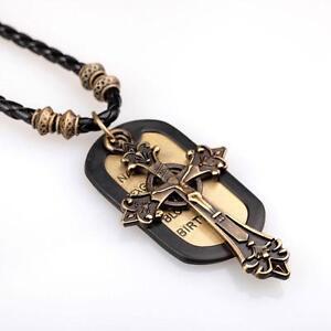 Men's Necklaces - Leather, Chain, Diamond, Silver | eBay