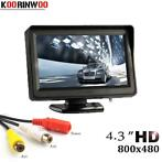 Koorinwoo HD Mini 4.3 inch Monitor Digitale tft lcd 800*480