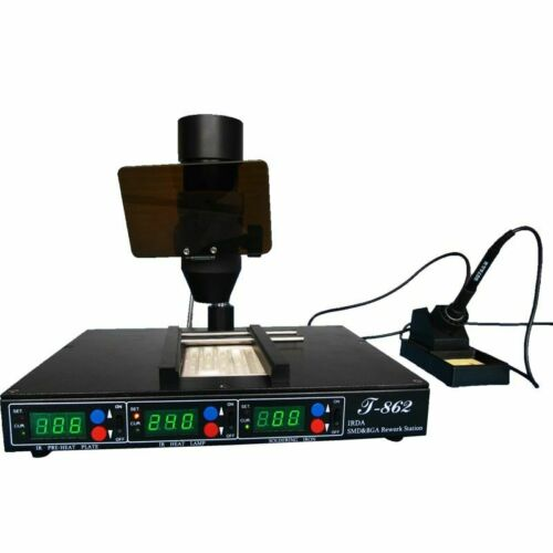 Rework Reflow Soldering Stations Infrared Weld Technology Heating System Machine