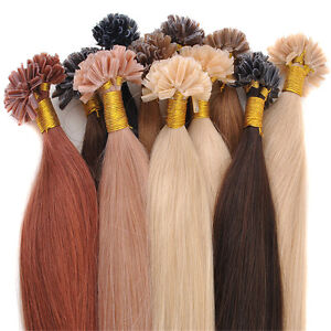 Remy Fusion Human Hair Extensions 64