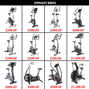 Upright Bike Cardio Bicycle Dual Magnetic Pedal Air Bikes Pedals