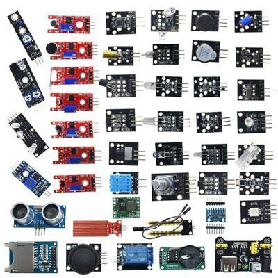 Arduino 45 In 1 Sensors Modules Starter Kit Uno R3 Mega2560