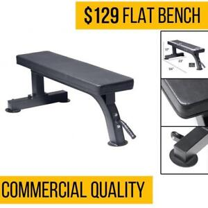 FIT505 Heavy Duty Flat Bench - Commercial Quality