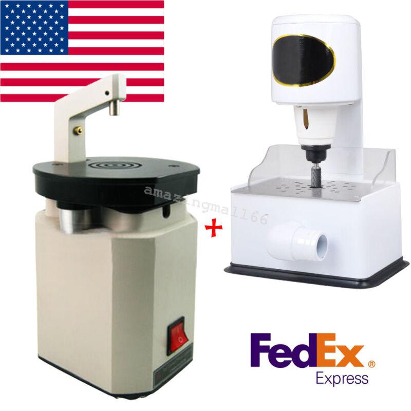 Dental Grind Inner Arch Trimmer Machine +Laser Pindex Drill Pin System Equipment