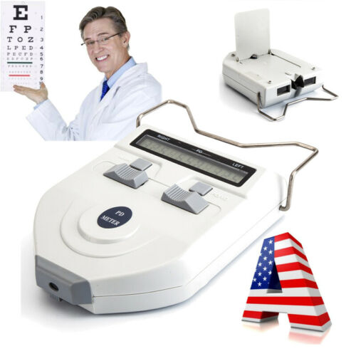FDA/CE Optometry Device Digital LCD Optical Digital Pupilometer PD Pupil Meter
