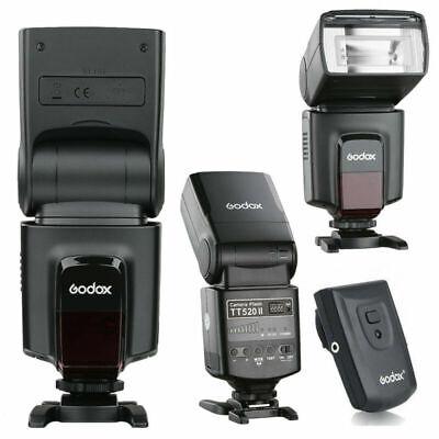Godox TT520II Flash Speedlite + Trigger For Canon Nikon Sony Fuji Pentax Olympus