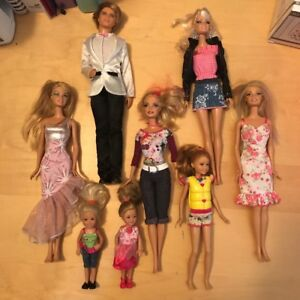 Barbie's and Accessories