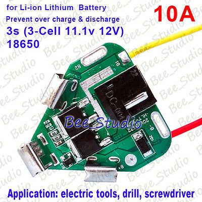 12v Pcm Pcb Li-ion Lithium Battery Protect Circuit Module Board For Makita Drill