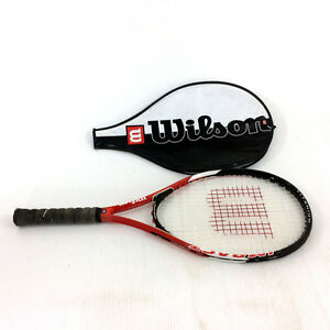 Wilson Titanium Tennis Racket Impact Cushion Pro Grip L4 4 1/2