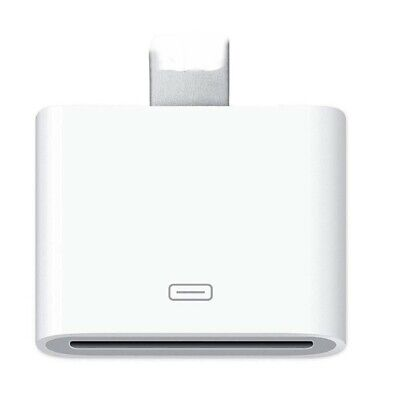 30 Pin Female to Lightning 8 Male Adapter for iPhone 5 6 7 Plus  X iPad iPod (30 Pin Male To Lightning Female Adapter)