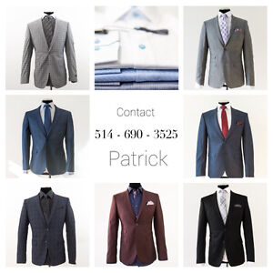 Costumes de QUALITÉ, NEUF, PAS CHER ! /NEW & HIGH QUALITY SUITS