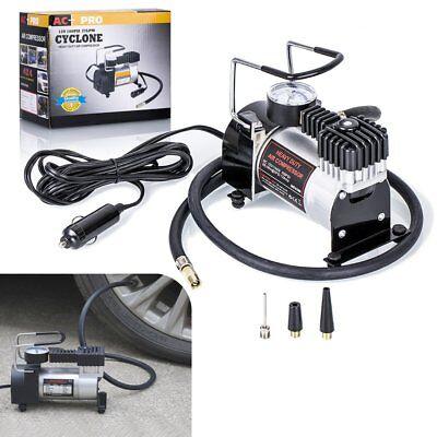 Heavy Duty Portable 12v Air Compressor 100psi Car Van Tyre Tire Inflator Pump