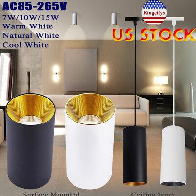 LED Ceiling Bulbs Lamp Spot Light Downlight Cylindrical Reflector 7W 10W 15W
