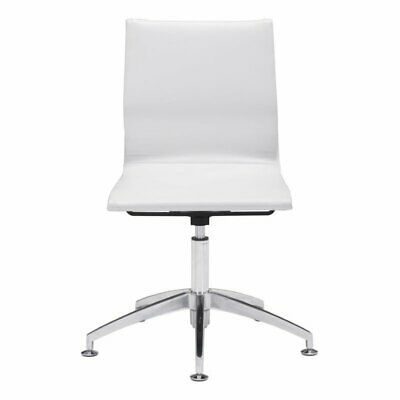 Brika Home Conference Chair In White