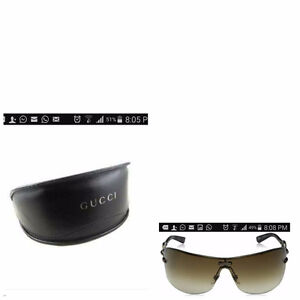 Stolen Gucci sunglasses and CD cases with Nigerian cds