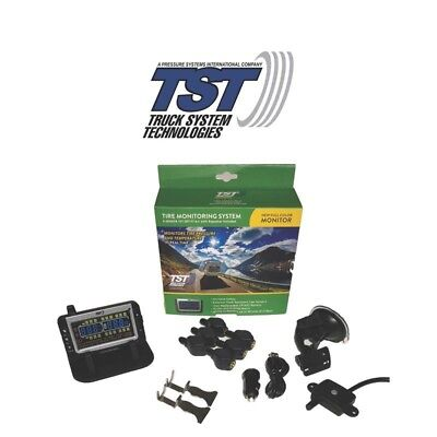 TST-507-FT-6-C New Generation Color Monitor 6 Flow Though Sensor Tire Monitor Sy