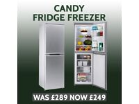 Brand New Candy Fridge Freezer with Warranty - Delivery Available - RRP £289 - Our Price £249
