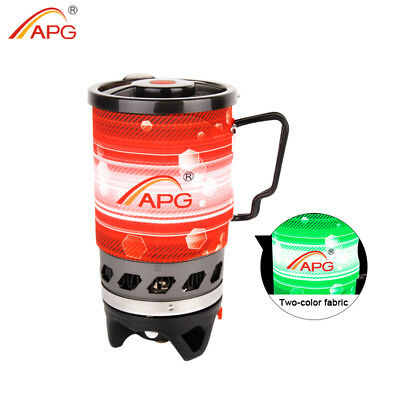 (APG Outdoor Cooking System Camping Stove Heat Exchanger Pot Propane Gas Burners)