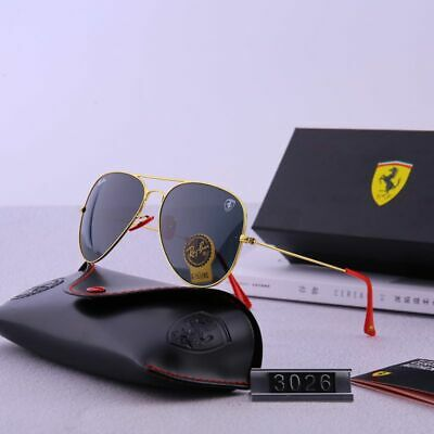 Gafas de sol Ferrari 3026 polarizadas DORADO/NEGRO