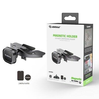 Esoulk Universal CD Slot Magnetic Car Mount 360* Rotational Phone Holder