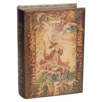 Kavatza Joint Box The Habit  Buch Geheimversteck Tabaktasche Drehunterlage Holz