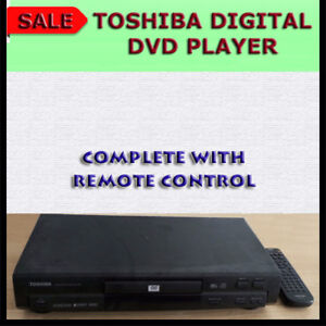 TOSHIBA DVD PLAYER WITH REMOTE CONTROL