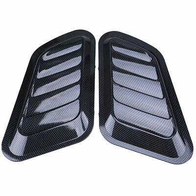 Auto Car Decorative Air Flow Intake Scoop Bonnet Side Fender Vent Hood Universal