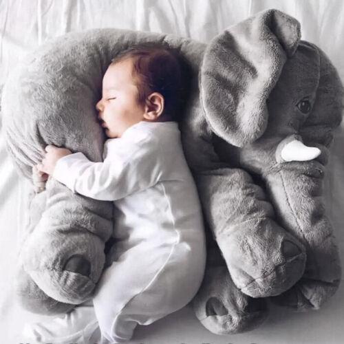 Elefant Kuscheltier zum Einschlafen Baby Kleinkind Plüsch Elefant 60 cm Geschenk