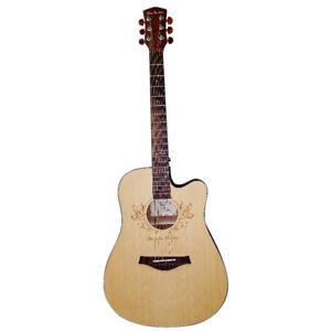BRAND NEW IN THE BOX - Full Size Acoustic Cutaway Guitar