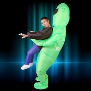 Inflatable Costume gonflable deguisement Alien unisex party hall