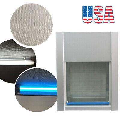 110v Vertical Ventilation Laminar Flow Hood Air Flow Clean Bench Workstation Fda