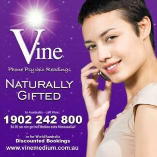Melbourne Psychic Vine Reading Line PayPal - Australia Wide