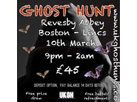 Ghost hunt at revesby abbey in boston lincolnshire