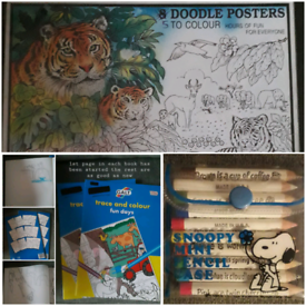 COLOURING & TRACING ACTIVITIES