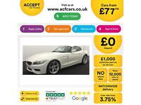 BMW Z4 FROM £77 PER WEEK!