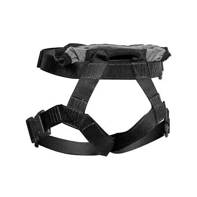 Fusion Tactical Griffin Military Half Body Rescue Harness Belt 23kN Medium Black