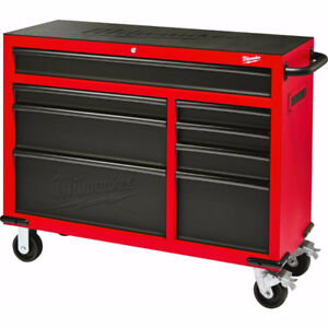 Milwaukee 46-inch 8-Drawer Roller Cabinet Tool Chest - Brand New