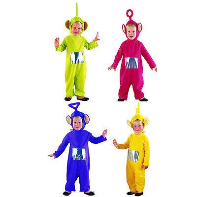 COSTUME BAMBINO TELETUBBIES Carnevale Travestimento Po Laa Laa Tinky Winky Dipsy