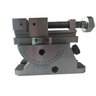 Vise Universal With 360 Degree Swivel Angle Plate Milling Opening 70-80mm