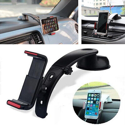 360 Adjuatable Car DashboardAir Vent Mount Holder For All Cell Phone GPS PDA