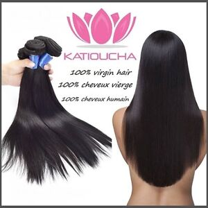 """100% Virgin Human Remy Hair Extensions,20"""",7A,100g,Unprocessed"""