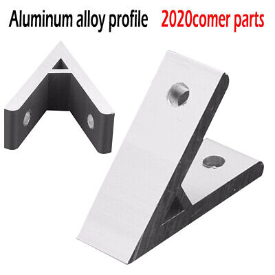 45 Degree Bracket Silver Brace Furniture Angle Joint Corner Connector Support 45 Degree Angle Bracket