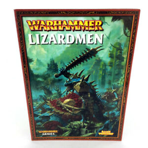 Warhammer 40K Lizardmen Armies Book 7th Edition Games Workshop