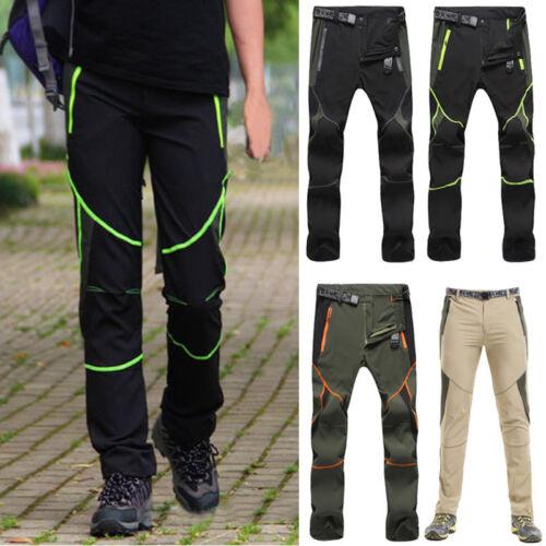 uomo pantaloni da trekking ARRAMPICARSI Outdoor TERMICA Pantaloni uomini Sport