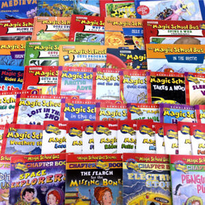 47 Magic School Bus Books Collection Picture Storybooks Chapter