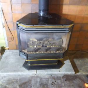 Osburn gas stove